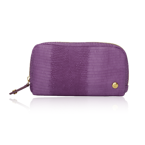 GALAPAGOS DEEP ORCHID MINI POUCH