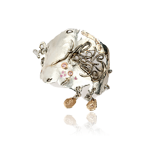 Hope Love Joy Couture Cuff
