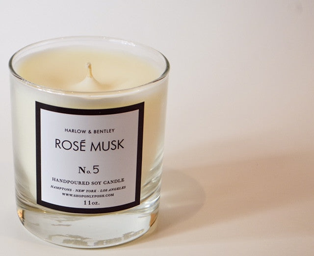 ROSE MUSK SOY CANDLE NO. 5