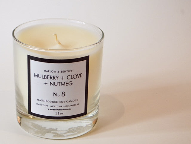 MULBERRY NUTMEG + CLOVE SOY CANDLE