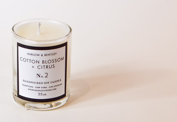 COTTON BLOSSOM + CITRUS SOY VOTIVE NO. 2