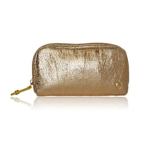 TINSELTOWN GOLD MINI POUCH
