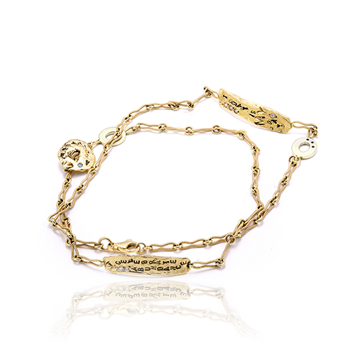 Dress Me In Gold Wrap Bracelet