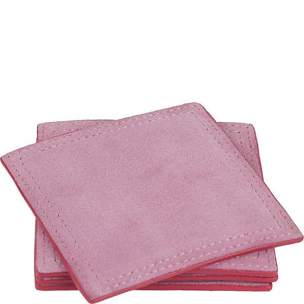PENNY SUEDE COASTER SET by BOULEVARD