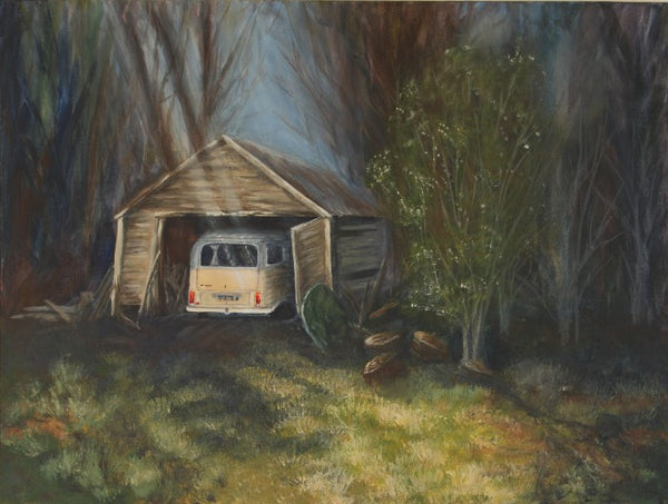 Paintings of Sheds and Houses