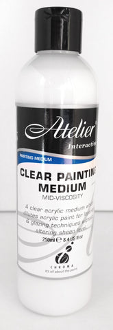 clear painting medium by Atelier Interactive