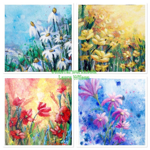 Next Time I Come Back To Flower Paintings Can Choose A Different Way Paint Them And Continue Build Up My Painting Skills