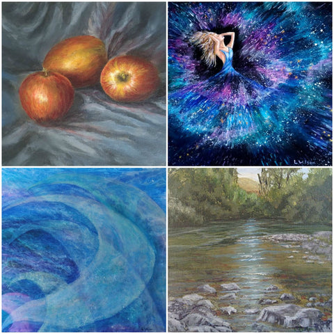 Art Blog, How Glazing can improve your painting. By Goldstarwork, Artist Laura Wilson