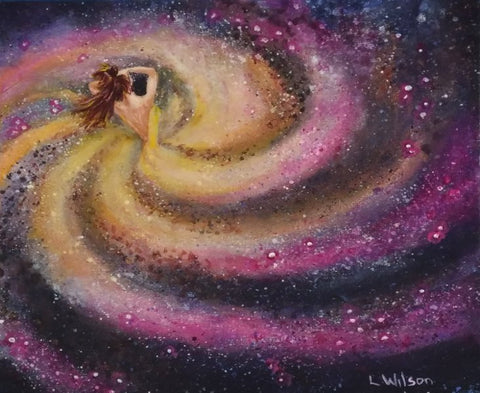 Galaxy Girl Pink Swirl