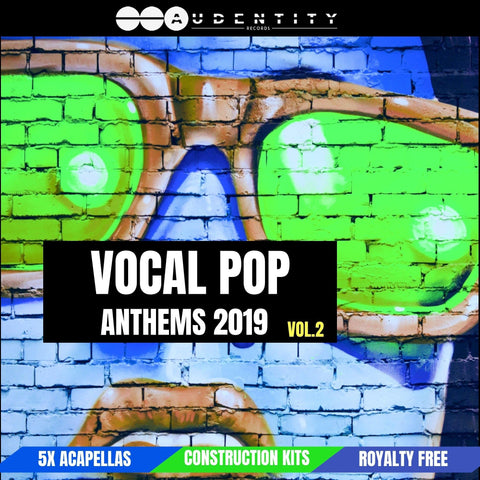 Vocal Pop Anthems 2 - vocal sample pack contains vocal samples