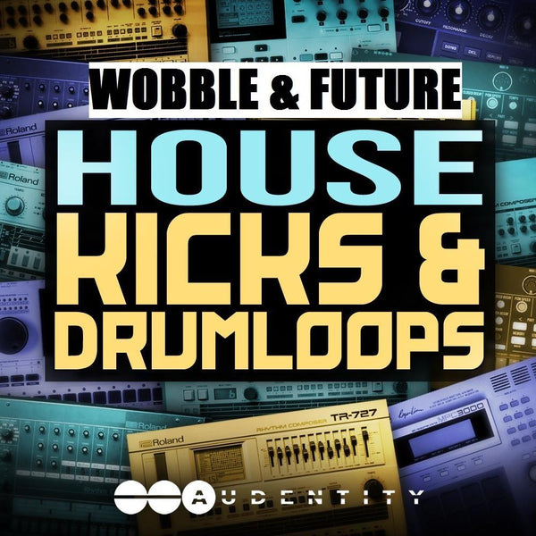 Audentity Records - Wobble & Future House Kicks & Drumloops