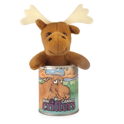 "4"" Mini Canned Moose"
