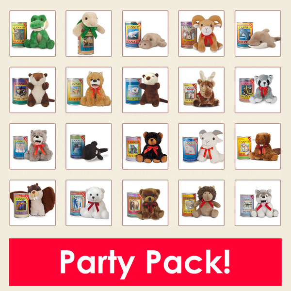Canned Critters Party Pack