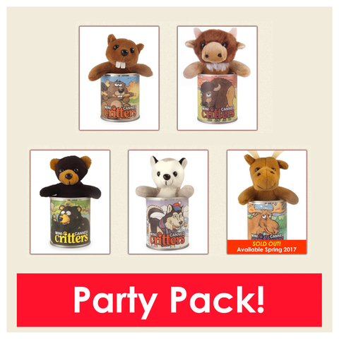 Mini Party Pack moose out of stock