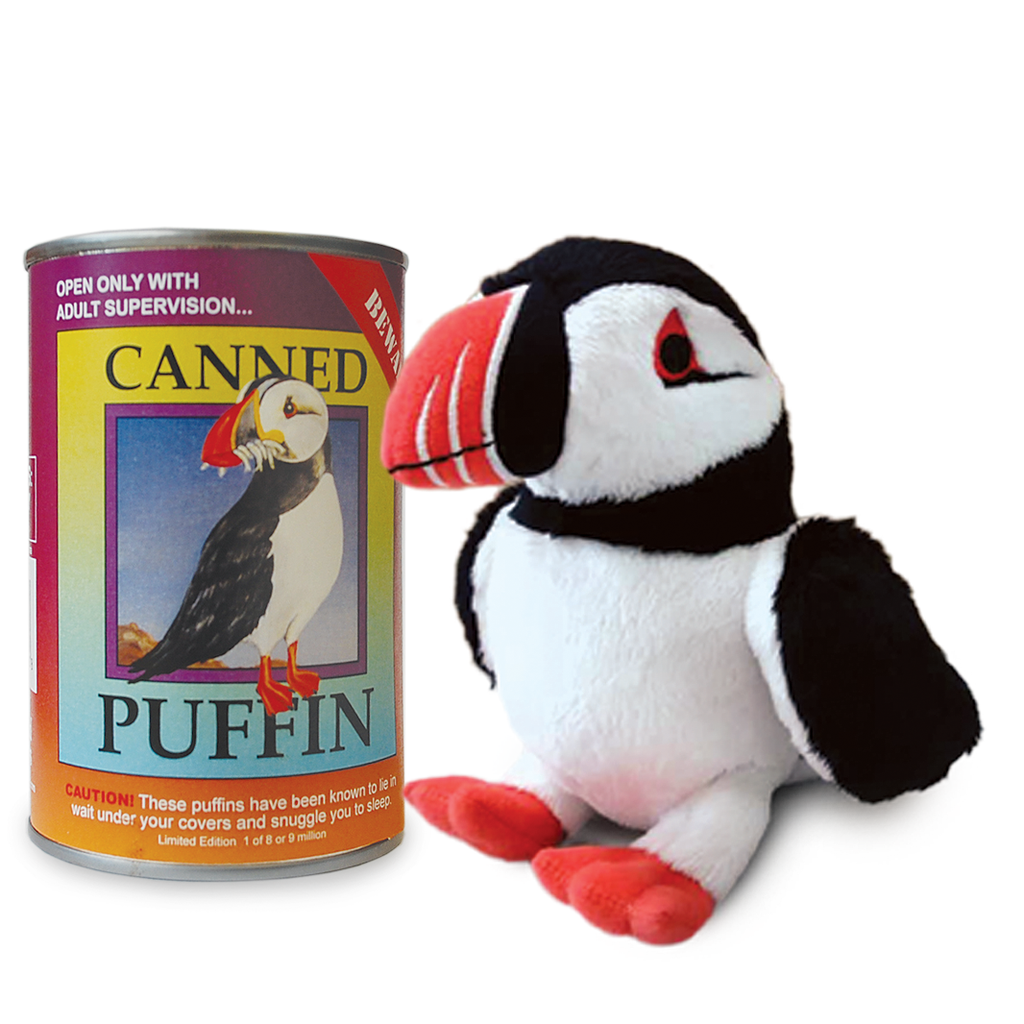 Canned Puffin