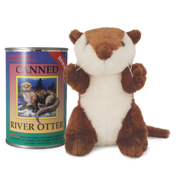 "6"" Canned River Otter"