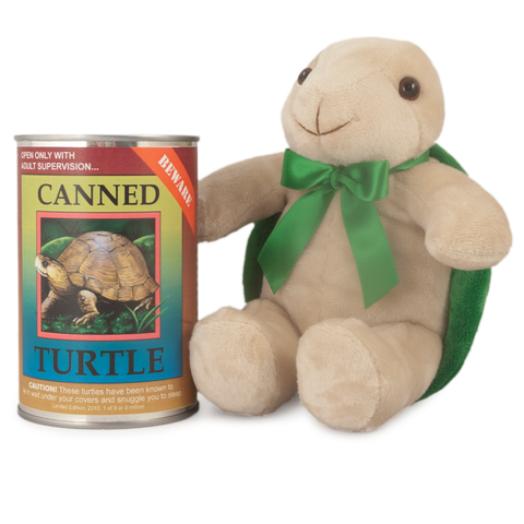 "6"" Canned Turtle"
