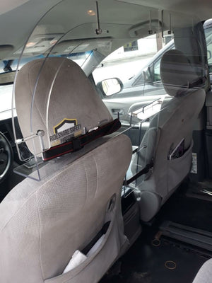 Customer Pictures of Standard Universal Partition in 2015 Toyota Sienna and 2017 Dodge Caravan