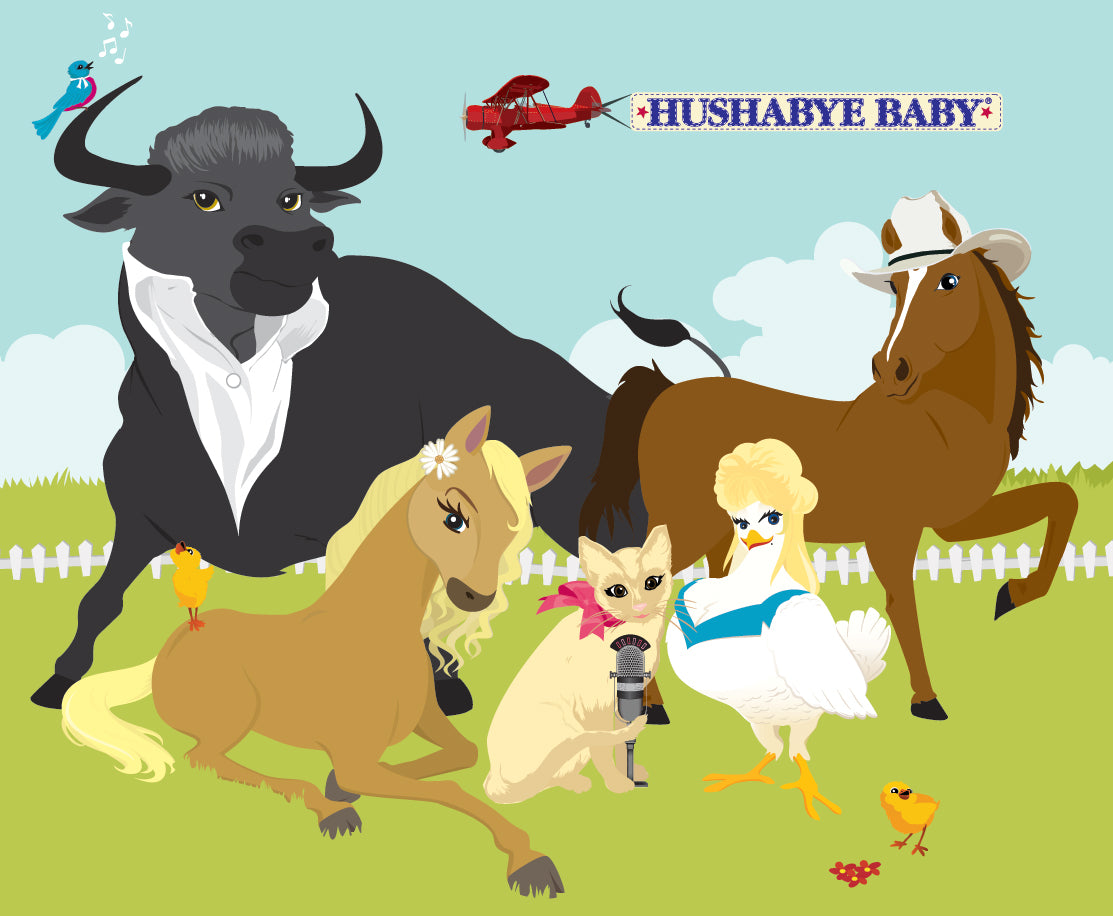 hushabye animals