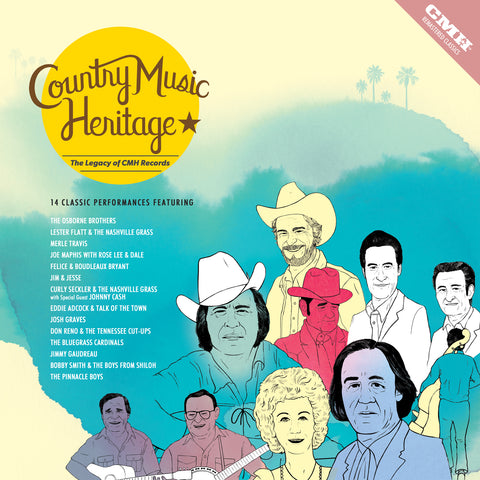 Country Music Heritage: The Legacy of CMH Records - LP