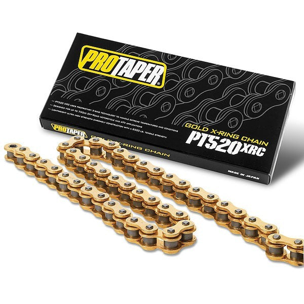 Pro Taper 520XRC Premium Gold Series X-Ring Chain - ESB Motocross