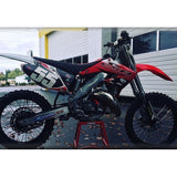 The ESB Motocross 2001 CR125R with the updated plastic conversion.