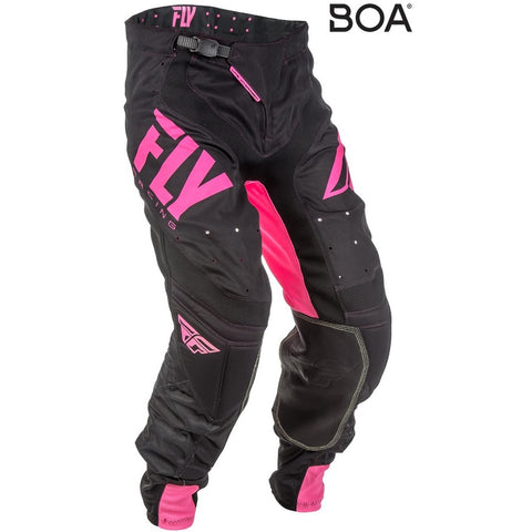 2018 FLY Racing Lite Hydrogen Neon Pink Pants