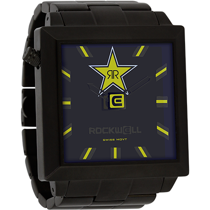 Rockwell Signature Rockstar Energy 50mm2 Watch - ESB Motocross