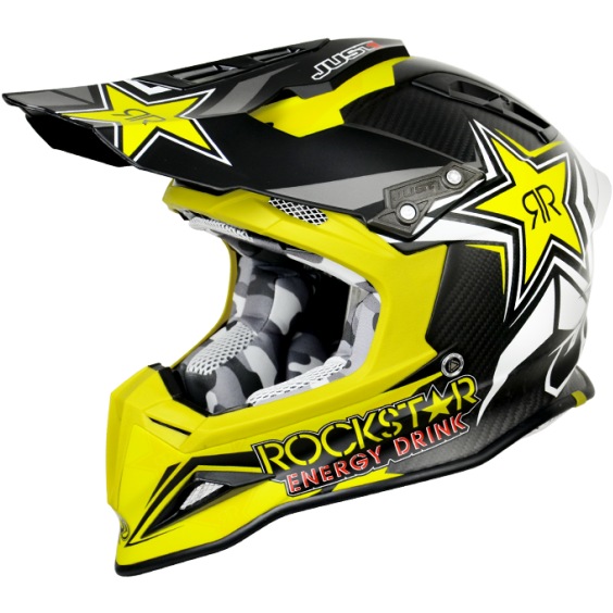 Just1 J12 Rockstar Energy Drink 2.0 Helmet - ESB Motocross