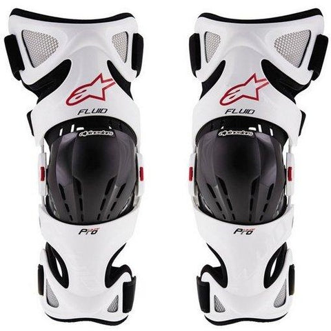 Alpinestars Fluid Pro Knee Braces Pair - ESB Motocross