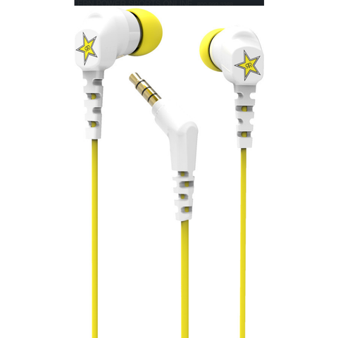 Scosche Rockstar Thudbud Noise Isolation Earbuds