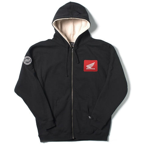 Factory Effex Honda Sherpa Zip-up Sweatshirt