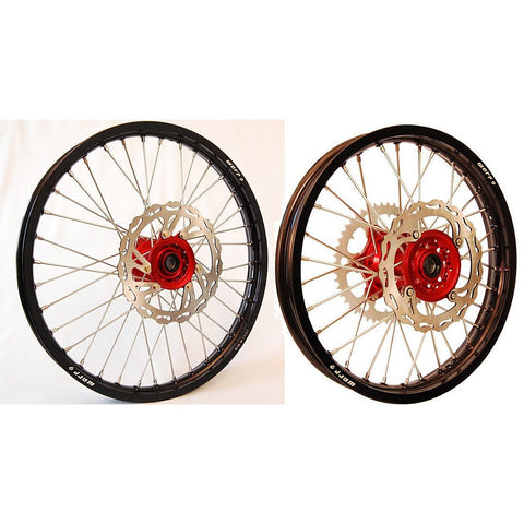Warp 9 Complete Front / Rear Wheel Set Honda - ESB Motocross