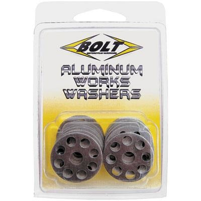 Bolt Aluminum Works Washers - ESB Motocross