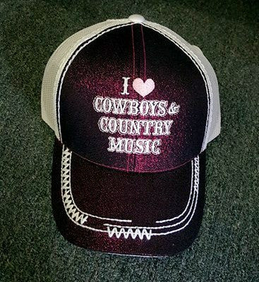 I Love cowboys and country music - A Little Bit of Bling and More