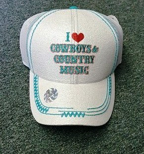 I heart Cowboys and Country Music - A Little Bit of Bling and More