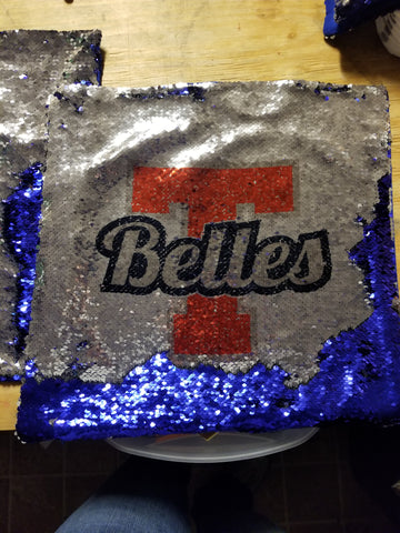 Custom 16x16 Sequin Pillow