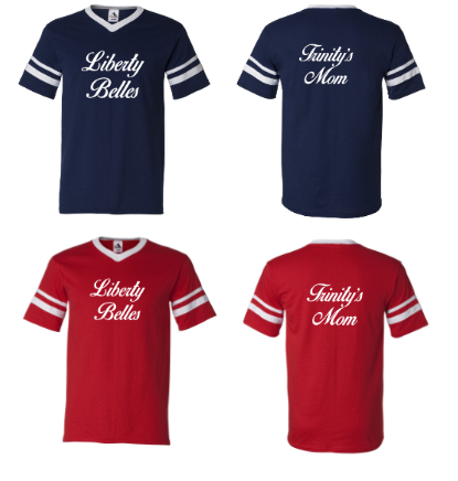 Belles V-Neck Jersey - A Little Bit of Bling and More