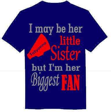 I may be her little sister... Cheerleading - A Little Bit of Bling and More