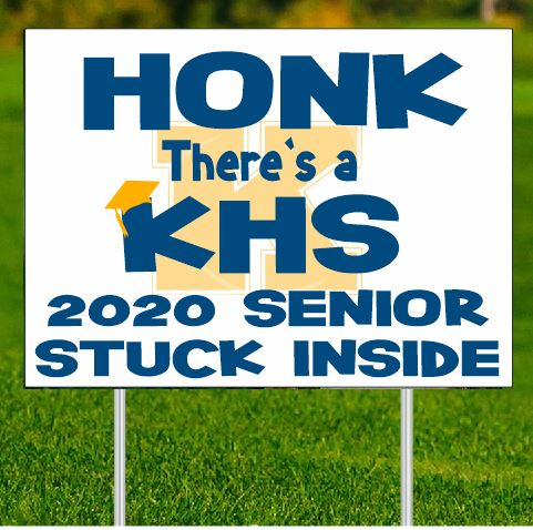 Honk there's a _________ 2020 Senior Stuck Inide