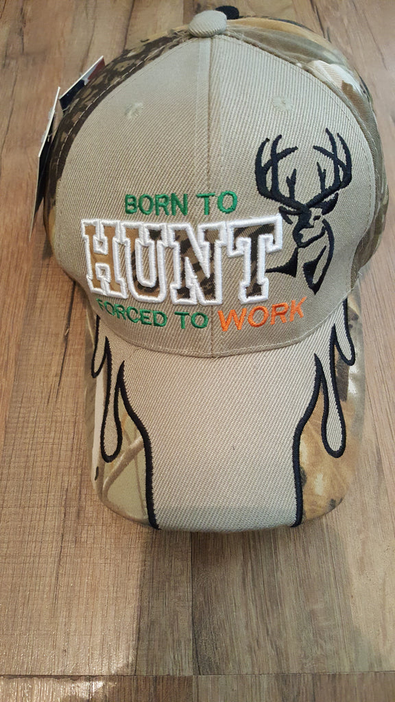 Born to hunt,  forced to work