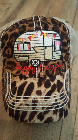 Cheetah Happy Camper