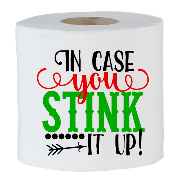 Christmas Toliet Paper- Gag gift