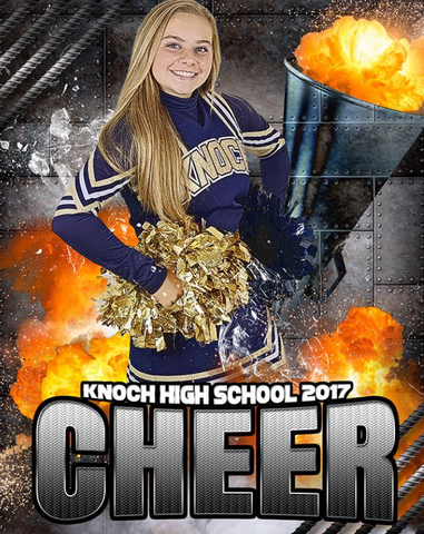 Cheerleading Photo Banner