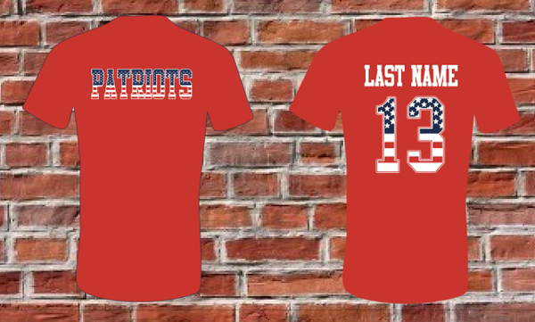 Patriots YOUTH Tee - A Little Bit of Bling and More