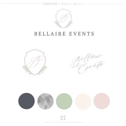 Logo Kit - Bellaire Events