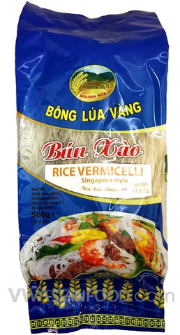 Golden Rice Rice Vermicelli (Singapore Style), 17.6 oz (24-Count)
