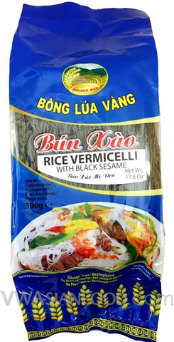 Golden Rice Rice Vermicelli with Black Sesame, 17.6 oz (24-Count)