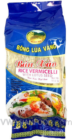 Golden Rice Rice Vermicelli with Lotus Seed, 17.6 oz (24-Count)