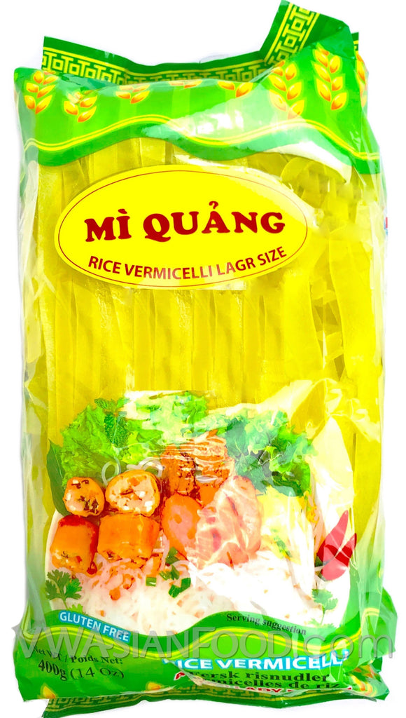 Datafood Rice Vermicelli Mi Quang (Large Size), 14 oz (30-Count)